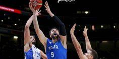 Basket - Euro - Eurobasket: Andrea Bargnani incertain pour le quart de finale contre la Lituanie