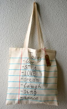 Cotton Bag with original design/tote bag/shopping by MrsBowDesign, €10.00