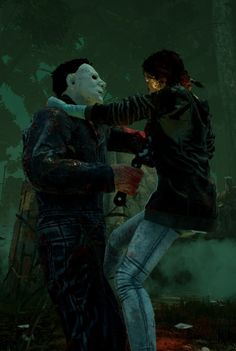 When Myers uses the tombstone...