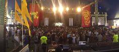 Zane Lowe at Future Music Festival Perth.