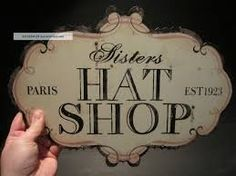 Image result for VINTAGE SHOP SIGNS