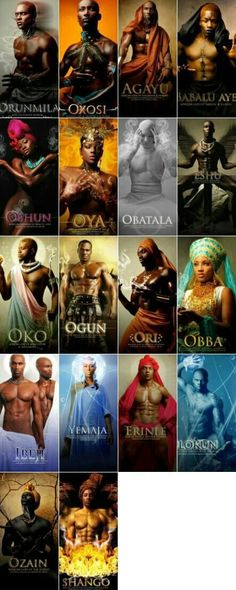 African Gods and Goddesses