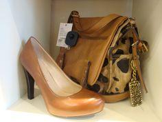 Franco Sarto shoes and Kathy Van Zeelan purse
