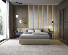32 Fabulous Modern Minimalist Bedroom You Have To See - Everywhere you look you find things are being updated. The best way to start modernizing in your life is to have a modern bedroom. Luxury Bedroom Design, Master Bedroom Interior, Master Bedroom Design, Bedroom Designs, Master Suite, Headboard Designs, Modern Minimalist Bedroom, Contemporary Bedroom, Bedroom Modern