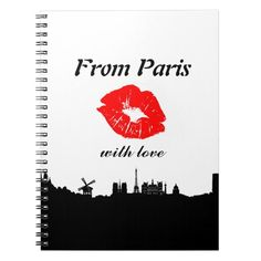Paris Notebook, with love Carnet