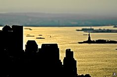 New York silhouette by Alessandro Giorgi Art Photography on 500px