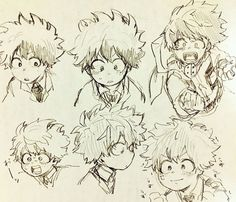 Anime Drawings Sketches, Anime Sketch, Manga Drawing, Cute Drawings, My Hero Academia Memes, Hero Academia Characters, My Hero Academia Manga, Anime Characters, Me Anime
