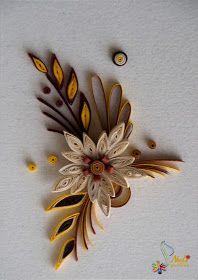 Neli Quilling Art: Quilling small cards-flowers