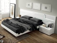 97 best modern beds images modern beds modern bedroom furniture rh pinterest com