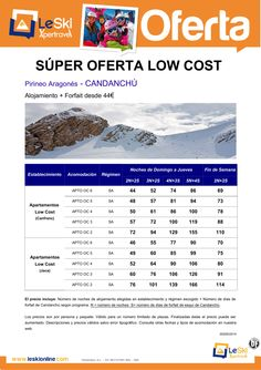 CANDANCHU Oferta Low Cost para Enero o Febrero desde 44€ ultimo minuto - http://zocotours.com/candanchu-oferta-low-cost-para-enero-o-febrero-desde-44e-ultimo-minuto/