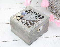 Beach Wedding Ring Bearer Box, Beach Wedding, Wedding/Engagement Ring Box, Personalised Wedding Ring Box, Beach Rustic Wedding Ring Holder by simplyWeddingday on Etsy
