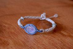 A personal favourite from my Etsy shop https://www.etsy.com/listing/488449289/macrame-bracelet-macrame-jewelry