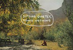 Sit stop listen