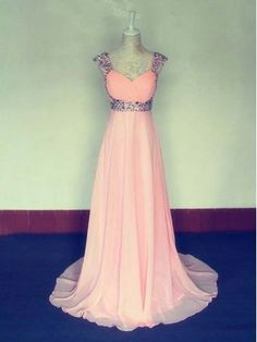 Pink Prom Sweetheart Dresses 2015 A Line Long Tulle Light Pink Evening Dress For Teens