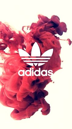 Adidas // Fond d'écran // Iphone Wallpaper // Tendance // Fumee rose