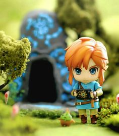 Breath of the Wild The Legend Of Zelda, Legend Of Zelda Breath, Zelda Breath Of Wild, Breath Of The Wild, Figure Photography, Toys Photography, Anime Figures, Action Figures, Botw Zelda