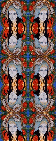 By Ellie Perla - Textile design CARO