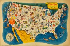 Awesome Old Food Map