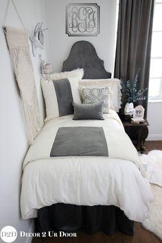 gold metallic glitz teen girl dorm room designer bedding set rh pinterest com