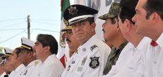 Duarte de Ochoa explicó que inicia un despliegue del personal de seguridad para inhibir la comisión de delitos mediante patrullajes permanentes en Minatitlán y municipios aledaños, en los que participarán todas las fuerzas armadas, además de la PGR y la PGJ.