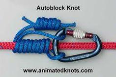 The Autoblock Knot Survival Knots, Survival Tips, Survival Skills, Survival Stuff, Wilderness Survival, Camping Survival, Prusik Knot, Knots Guide, Rope Knots