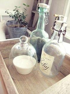 A luscious life - bottles wooden box - Living lusciously.JPG
