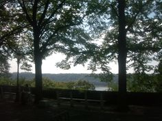Our view.  Ft. Tryon Park, NYC