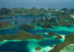 Raja Ampat...  That is beautiful.
