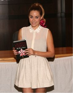 Lauren Conrad: Book Signing in Los Angeles with a Pink Ponytail