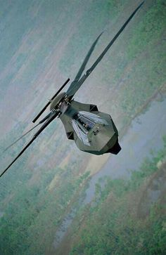 Abandoned US stealth attack helo project.