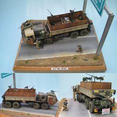 M 977 HEMTT Gun Truck. Modeler Patrick #scalemodel #plastimodelismo #scalemodelsworld #plastickits #diorama #hobby #miniatura #miniature #plasticmodel #plastimodelo