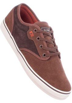 Globe Motley, Shoe-Men, brown-choco #ShoeMen #MenClothing #titus #titusskateshop