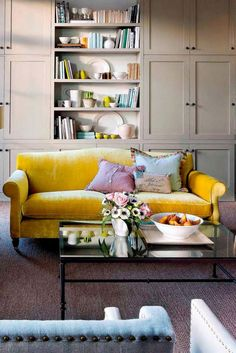 12 best bold colour sofas images couches living room bed room rh pinterest com