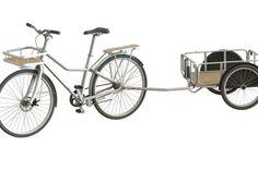 IKEAが自転車「SLADDA」を発表した。リアカーも取り付け可能で、欧州では8月に発売となる。