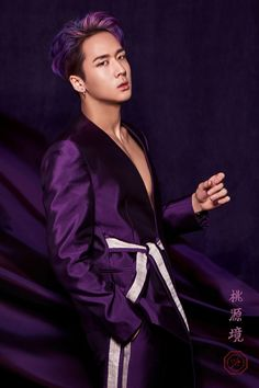 #VIXX 4th MINI ALBUM #桃源境 (#도원경)  CONCEPT PHOTO Birth Stone #HONGBIN    #VIXX_桃源境 #빅스_도원경 #20170515_6PM