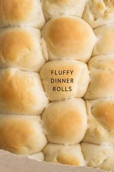 Easy to make fluffy rolls made in the bread machine. These dinner rolls taste like Hawaiian sweet rolls and are delicious with a little butter on top! Made with pantry staples for simple bread making! Bread Machine Rolls, Easy Bread Machine Recipes, Bread Maker Recipes, Tasty Bread Recipe, Bread Rolls, Sweet Dinner Rolls, Fluffy Dinner Rolls, Homemade Dinner Rolls, Dinner Rolls Recipe