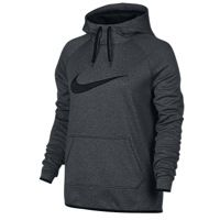 Nike All Time Swoosh Hoodie - Women's - Grey / Black