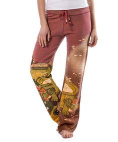 PAPARAZZI Red Garden Gradient Sweatpants | zulily