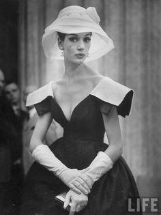 "big shoulder fashions"" from 1959"