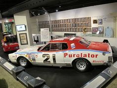 David Pearson's Wood Brothers Racing Mercury Montego with which he won the 1976 Daytona 500.