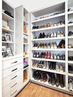COMO ORGANIZAR E CUIDAR DOS SEUS SAPATOS #organizacao #closet #sapatos #decoracao #decor