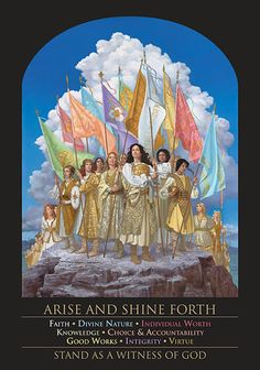 """""""Arise and Shine Forth"""" by James C Christensen Art Prints"""