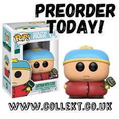 New to #preorder #southpark Cartman and Clyde GameStop Exclusive #funkopop - secure yours today at Collekt.co.uk - #collekt #cartman #funko #funkouk #funkopopuk #funkopopsuk #funkoukcollector #geek #nerd #southparkfan #originalfunko #popvinyl #popculture