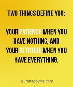 #quotes - Two things define...more on purehappylife.com