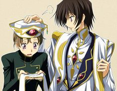 Rolo and Lelouch Lamperouge/vi Britannia - Code Geass