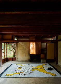 ‣‣ Studio Shamshiri x Christopher Farr Quirky Bedroom, Lion, Art Deco, Studio, Rugs, Houses, Painting, Taxidermy, Heart