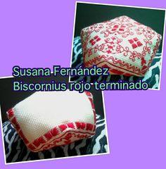 Biscornu de Susana Fernandez