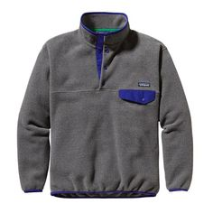 A classic pullover: the Patagonia Men's Synchilla® Lightweight Snap-T® provides everyday warmth and comfort with soft double-faced fleece. Mens Outdoor Clothing, Outdoor Apparel, Outdoor Gear, Patagonia Synchilla, Puffy Jacket, Mens Fleece, Patagonia Jacket, Pullover, Sweatshirt