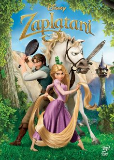 Tangled (Blu-ray + DVD Combo) on Blu-ray from Disney / Buena Vista. Directed by Nathan Greno and Byron Howard. Tompkins, Zachary Levi, Brad Garrett and Mandy Moore. More Comedy, Fantasy and Romance DVDs available @ DVD Empire. Tangled Movie, Tangled 2010, Movie Tv, Movie Club, Disney Rapunzel, Animation Movies, Disney Movies