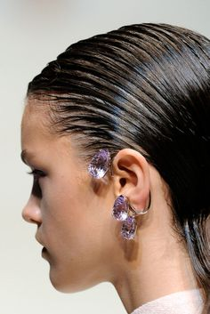Damiani by Jil Sander earrings